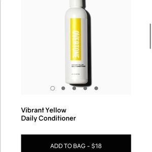 Overtone Vibrant Yellow Daily Conditioner